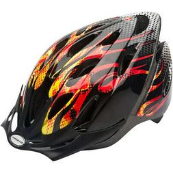 Schwinn Thrasher Children's Microshell Bicycle Helmet, Flame