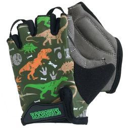ZippyRooz Dinosaurs Toddler/ Little Kids Bike Glove Sport Ha
