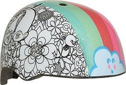 Bell Trolls Rainbow Color Me Toddler Multisport Helmet
