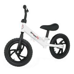 Unisex Children Balance Bike Kids No-Pedal Learn Ride Pre Bi