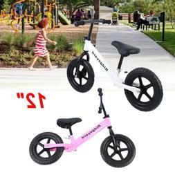 "Ridgeyard Unisex Kids 12"" Balance Bike Classic No-Pedal Lear"