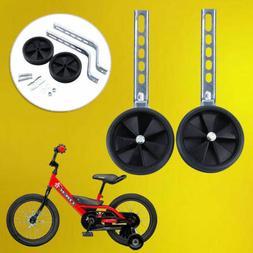 "Universal Training Wheels for 12"" - 20"" Bike Kids Bicycle Ch"
