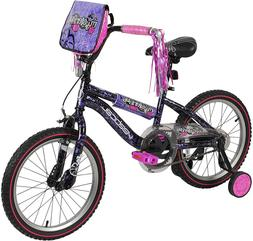 """Vertical Mysterious 18"""" Bike with Removable Training Wheels"""