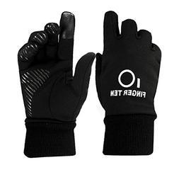 Winter Gloves Kids Boys Girls Youth Sport Running School Bik