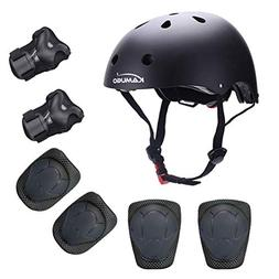 Kids Youth Adjustable Sports Protective Gear Set Safety Helm