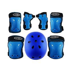 Weanas Kids Youth Adjustable Sports Protective Gear Set, Saf