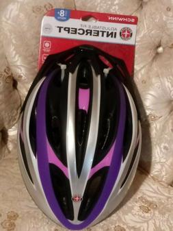 Schwinn Youth Girl's Intercept Helmet, Purple/Pink