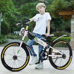 "20"" Kids Bike Bicycle Boys & Girls with Training Wheels Disk"